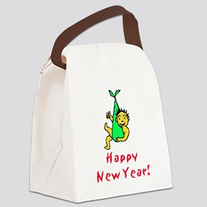 Happy New Year! v2 Canvas Lunch Bag