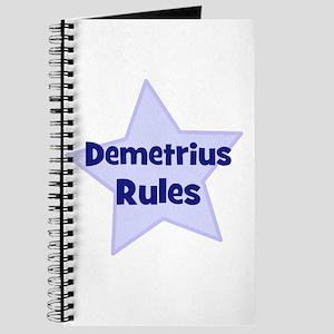 Demetrius Rules Journal