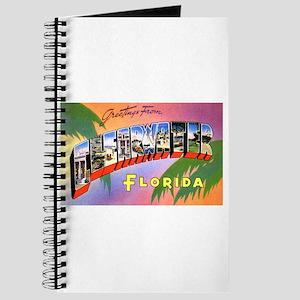 Clearwater Florida Greetings Journal