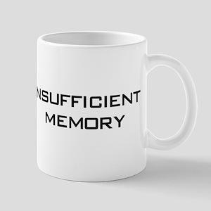 Insufficient Memory Mug