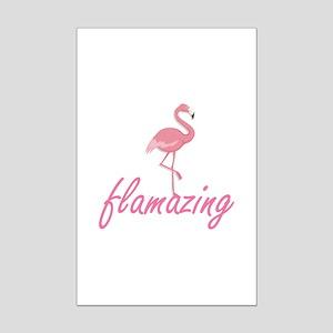 Flamazing Mini Poster Print