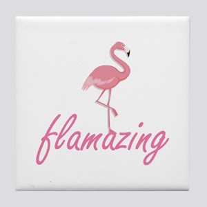 Flamazing Tile Coaster