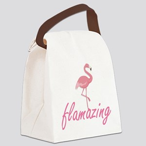 Flamazing Canvas Lunch Bag