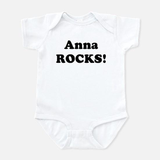 Anna Rocks! Infant Bodysuit