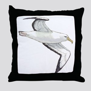 Albatross Throw Pillow