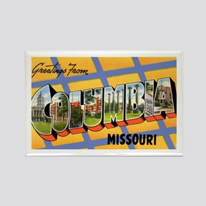 Columbia Missouri Greetings Rectangle Magnet
