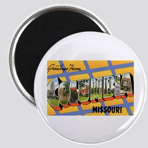 Columbia Missouri Greetings Magnet