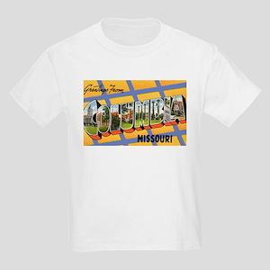 Columbia Missouri Greetings (Front) Kids T-Shirt