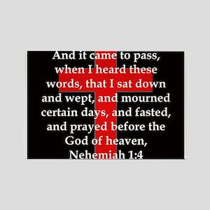 Nehemiah 1:4 Magnets