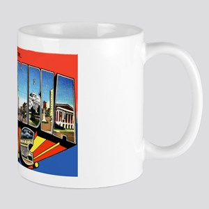 Columbia South Carolina Greetings Mug
