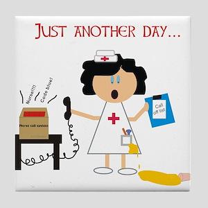 Stressed Out Nurse Tile Coaster