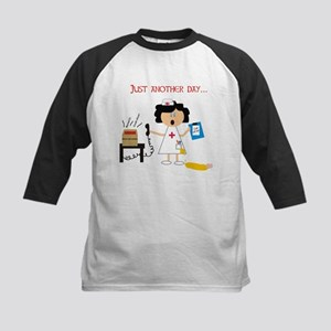 Stressed Out Nurse Kids Baseball Jersey