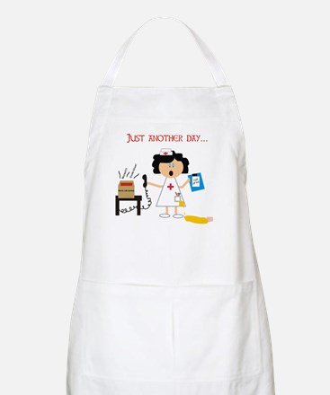 Stressed Out Nurse BBQ Apron