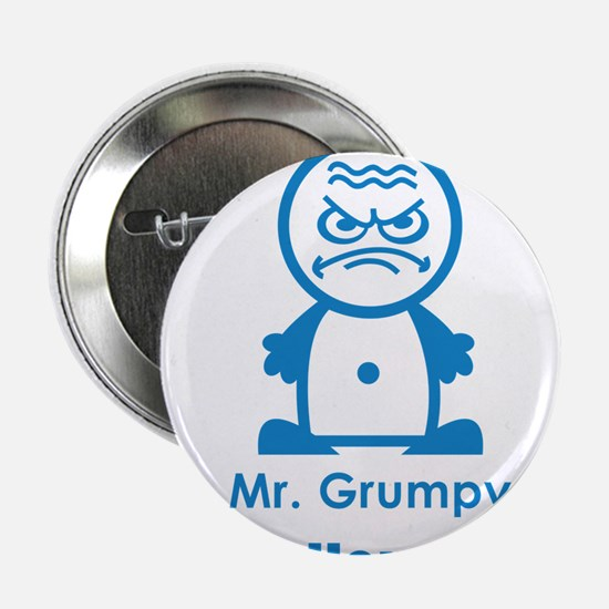 MR GRUMPY moody angry face bad hair day funny 2.25