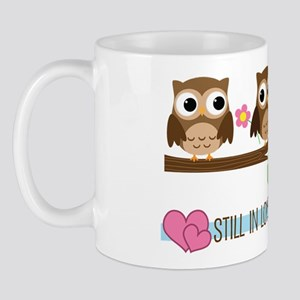 Owl 42nd Anniversary Mug