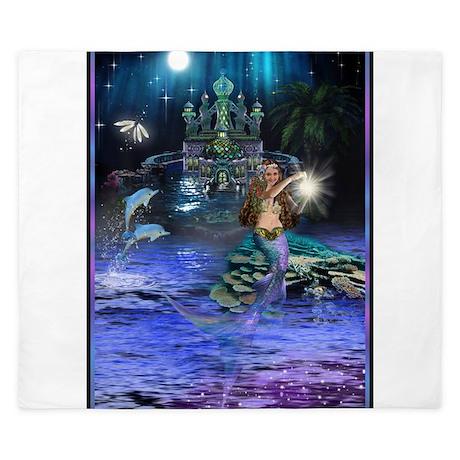 Best Seller Merrow Mermaid King Duvet By The Jersey Shore