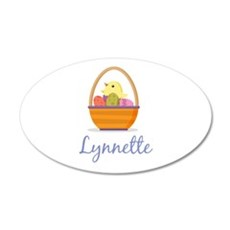 Easter Basket Lynnette Wall Decal