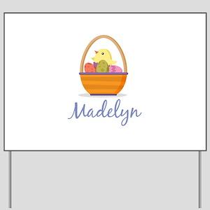 Easter Basket Madelyn Yard Sign