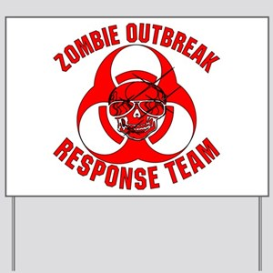 Zombie Response Team Yard Sign