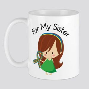 Autism For My Sister Mug