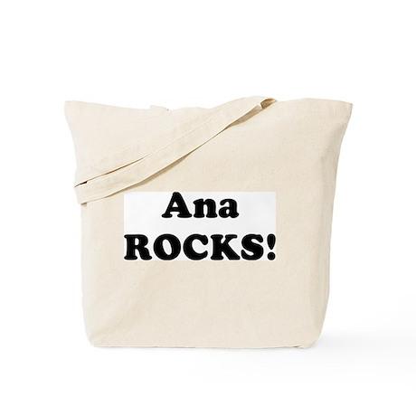 Ana Rocks! Tote Bag