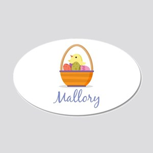 Easter Basket Mallory Wall Decal