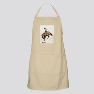 Bucking Bronco Apron