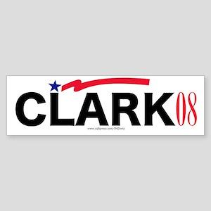"""Gen. Clark"" Bumper Sticker"