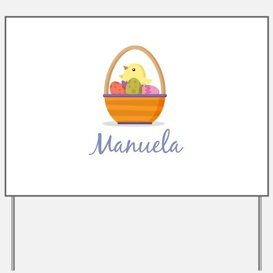 Easter Basket Manuela Yard Sign