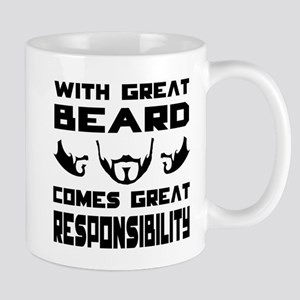 With great beard comes great responsibilty Mug