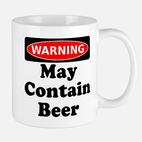 Warning May Contain Beer Mug