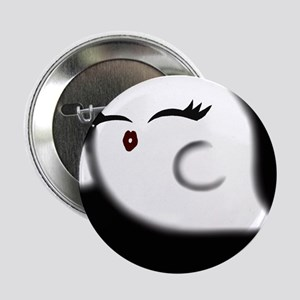 """Foo The Ghost 2.25"""" Button"""