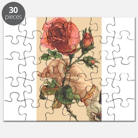 Vintage Rose Puzzle