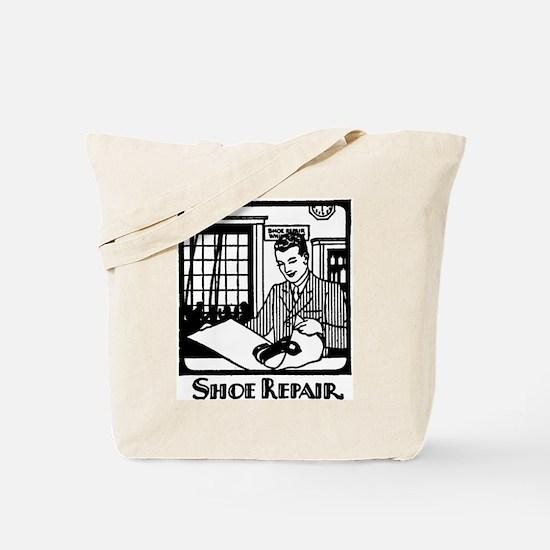 Retro Shoemaker Tote Bag