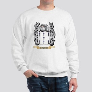 Docker Coat of Arms - Family Crest Sweatshirt