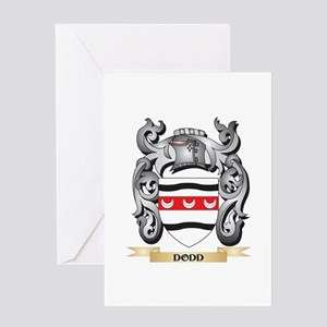 Dodd Coat of Arms - Family Crest Greeting Cards