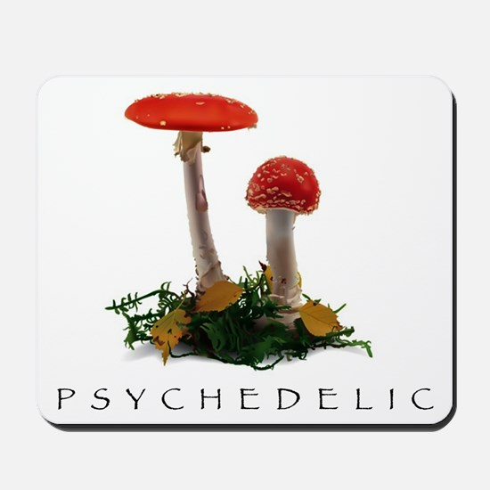 Psychedelic - T-shirts Mousepad