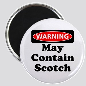 Warning May Contain Scotch Magnet