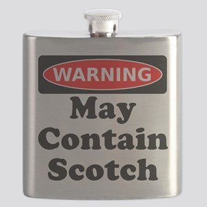 Warning May Contain Scotch Flask