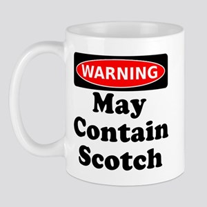 Warning May Contain Scotch Mug