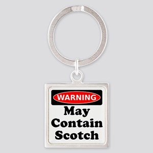 Warning May Contain Scotch Keychains