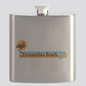 Fernandina Beach - Beach Design. Flask