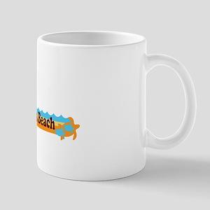 Fernandina Beach - Beach Design. Mug