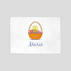 Easter Basket Marie 5'x7'Area Rug