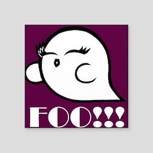 Foo (Magenta) Sticker