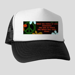 jimi retro -when the power of love... Trucker Hat