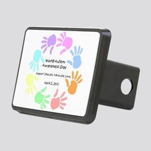 World Autism Day 2013 Rectangular Hitch Cover