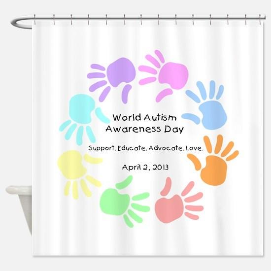 World Autism Day 2013 Shower Curtain