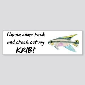 check out my krib Bumper Sticker