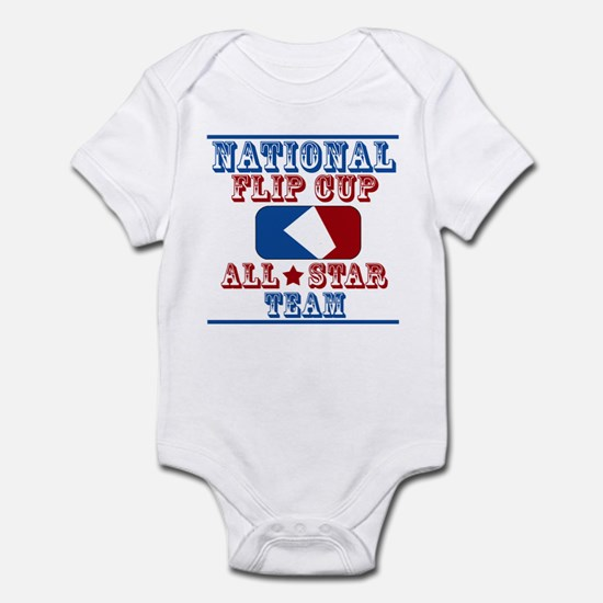 National Team, Flip cup all s Infant Bodysuit